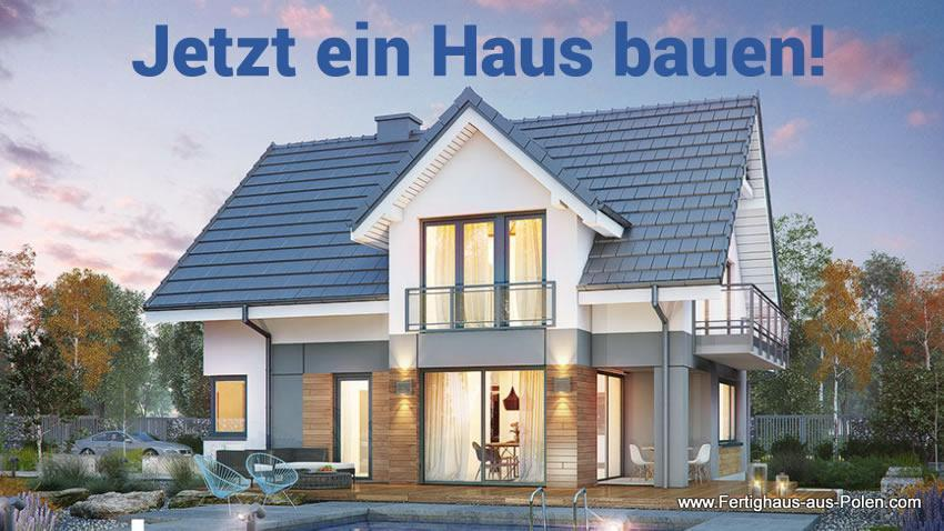 Haus bauen Stockheim - Fertighaus-aus-Polen.com: Günstige Fertighäuser, Holzhaus, Ausbauhäuser, Passivhäuser, Energiesparhäuser, Bungalow Schlüßelfertig.